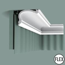 C341 Flexible Orac Curtain Moulding