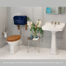 SX156 and P8020 in Thomas Crapper Cloakroom