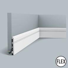 SX105 Flexible Orac Skirting Board