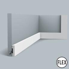 SX162 Flexible Orac Skirting Board