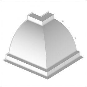 Orac C820B Internal Corner