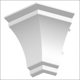 Orac 820C External Corner