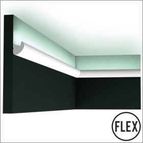 Orac CX188 Flexible Skirting