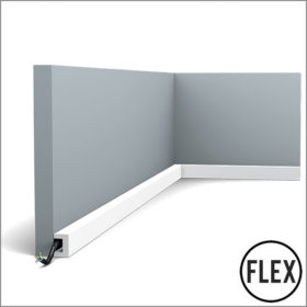 Orac CX190 Flexible Skirting