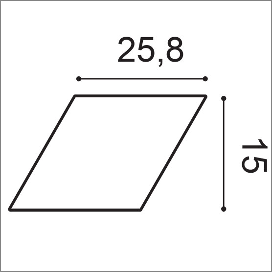 W100 Rombus Element
