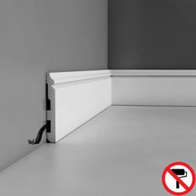 SX118-RAL9003 pre-painted skirting